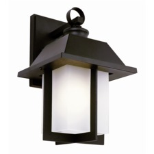 Pagoda Cap Outdoor Wall Sconce