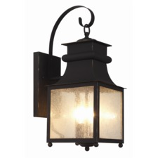 Garden Chimney Outdoor Wall Sconce
