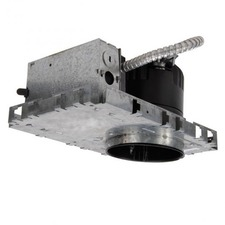 LEDme 4 inch New Construcion IC Rated Recessed Housing