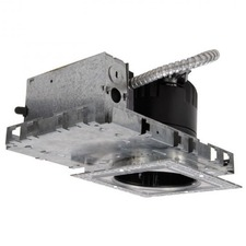 LEDme 4 inch New Construction IC Square Trimless Housing