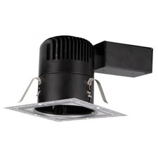 LEDme 4 inch Remodel Non-IC Square Invisible Trim Housing