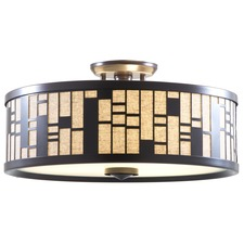 Lisbon Ceiling Semi Flush Mount