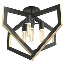 Urban Cottage Ceiling Flush Mount