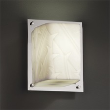 Porcelina Framed Wall Sconce
