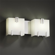 Clips 81 Two Light Bath Bar