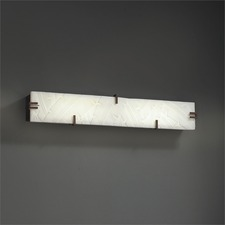 Clips 28 inch LED Linear Bath Bar