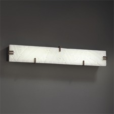 Clips 36 inch LED Linear Bath Bar