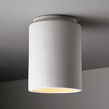 Ceramic Cylinder Flush Mount