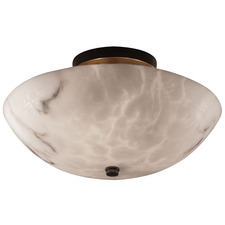 Round Bowl Semi Flush Mount
