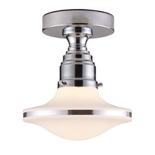 Retrospective Semi Flush Mount
