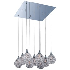 Brilliant Square Multi Pendant
