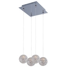 Brilliant RapidJack Rectangle Canopy Multi Pendant