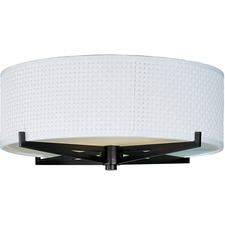 Elements 3 Light Flush Mount