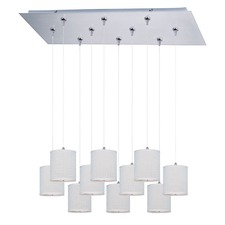 Elements 10 Light RapidJack Pendant and Canopy