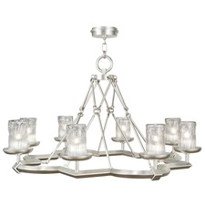 Liaison Glass Candle Chandelier