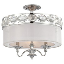 Bijoux Semi Flush Mount