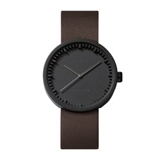 D42 Leather Strap Tube Watch