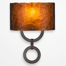 Carlyle Round Link Wall Sconce