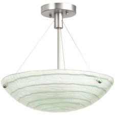 Aqueous Semi Flush Mount