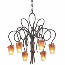 Tribecca Chandelier With Bulbs