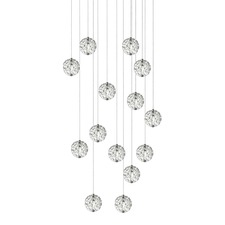 Bubble Ball 14 Light LED Linear Multi-Light Pendant