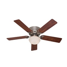 Low Profile III Plus Ceiling Fan with Light