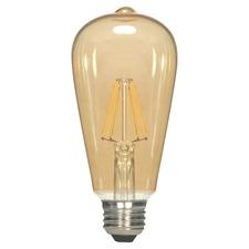 ST19 Filament Med Base 2.5W 120V Amber