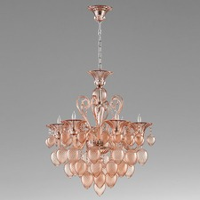 Bella Vetro Small Chandelier