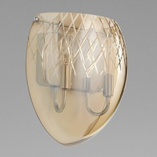 Etched Wall Light