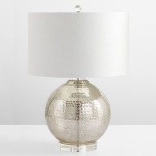 Hammered Reflections Table Lamp