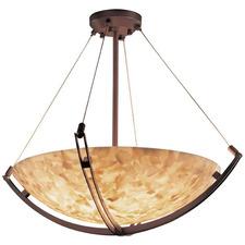 Round Bowl Crossbar Pendant
