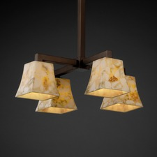 Alabaster Rocks 4 Light Modular Chandelier