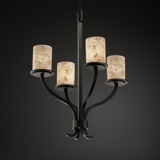 Alabaster Rocks 4 Light Sonoma Chandelier