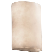 Clouds Large Cylinder 1 Lt Wall Sconce CLR/CLOU