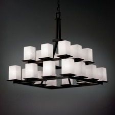 Fusion Montana Square Chandelier