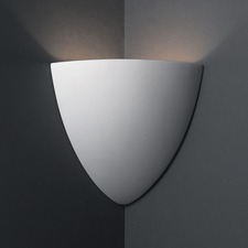 Teardrop Corner Wall Sconce