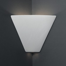 Trapezoid Corner Wall Sconce
