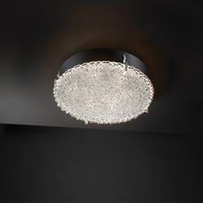 Clips Round Veneto Luce Wall/Ceiling Light