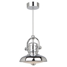 Profile Convertible Pendant/Semi Flush Ceiling Light