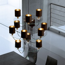 Silhouette Three Tier Chandelier