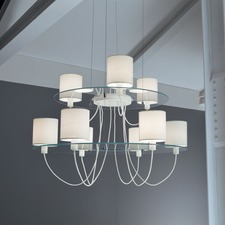 Silhouette Two Tier Chandelier