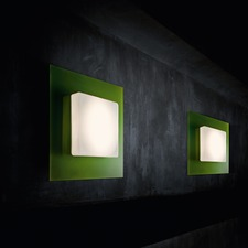 Square Halogen Wall/Ceiling Light