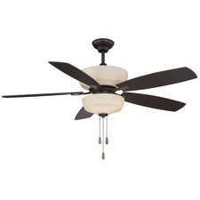 Sheffield Ceiling Fan with Light