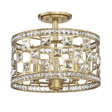 Clarion Semi Flush Ceiling Light