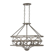 Rail Oval Chandelier