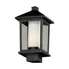 Mesa Square Stem Outdoor Post Light