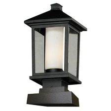 Mesa Square Outdoor Pier Mount Light
