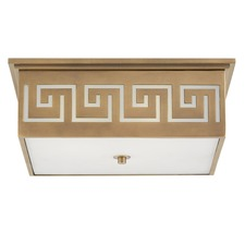 Greek Key Ceiling Light Fixture