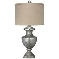 Mini Lee Urn Table Lamp Mercury Glass