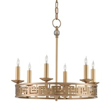 Greek Key Chandelier